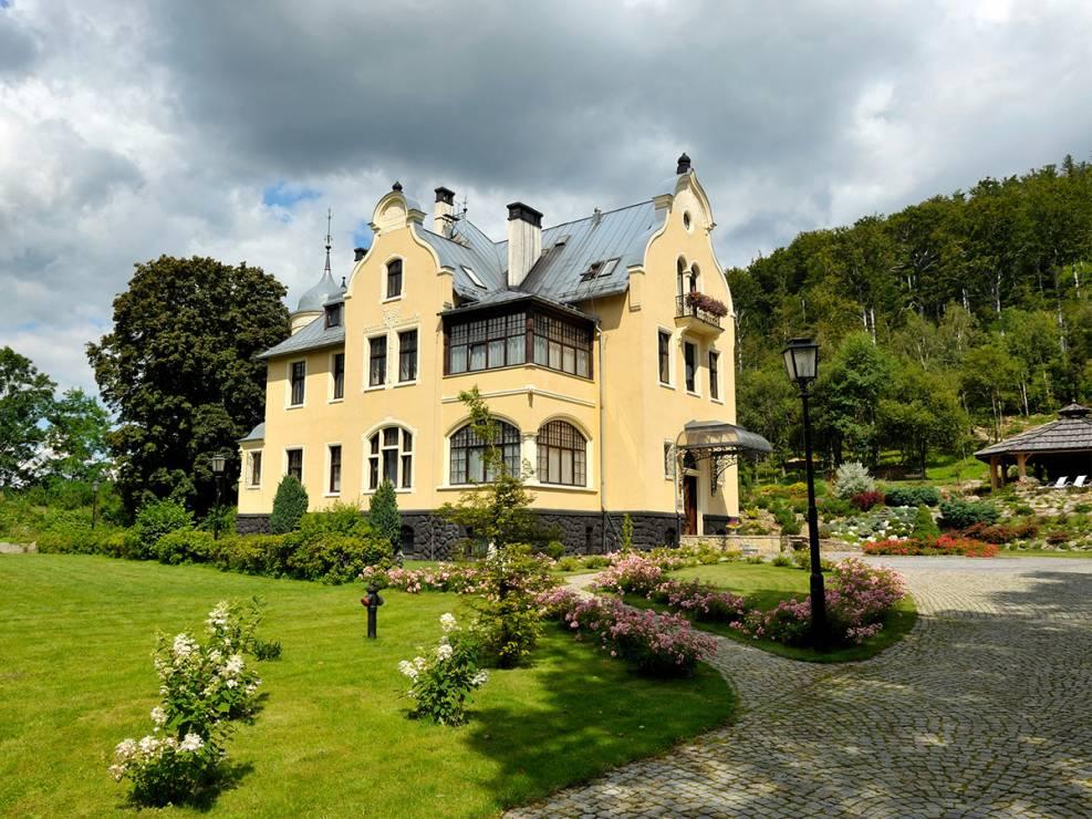 Villa Elise, dolnośląskie - Zamki i dwory w Polsce, dzięki którym zapomnisz o wakacjach za granicą