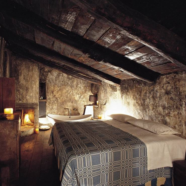 W średniowiecznej wiosce - 15 najbardziej nietypowych hoteli świata