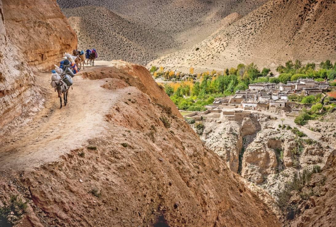 Mustang - Do 1992 roku ten region był zupełnie odcięty od innych kultur. Jest prawdziwie magiczny