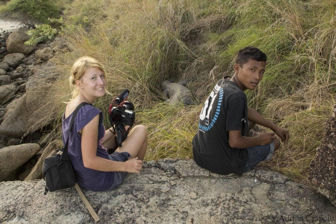 Komodo -  kraina smoków - Smoki równe ludziom. Legenda, która ocaliła życie smokom z Wyspy Komodo