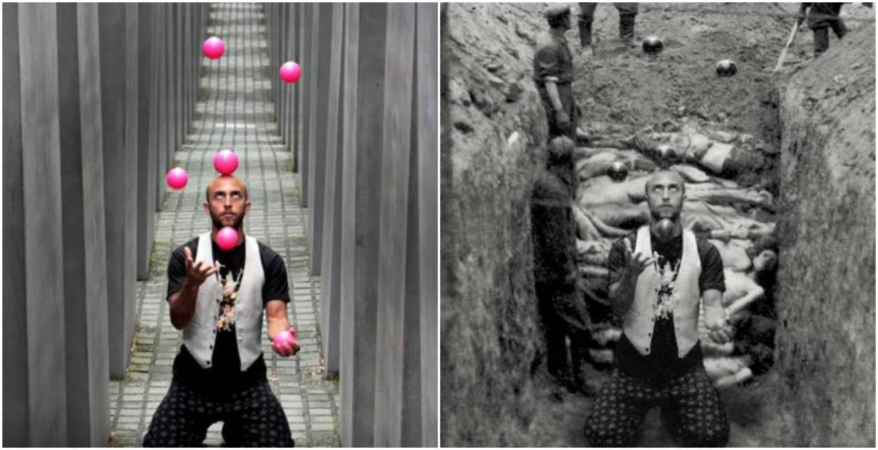 Yolocaust - Ten projekt fotograficzny jest jak niespodziewany cios. Skutecznie zmienia sposób patrzenia