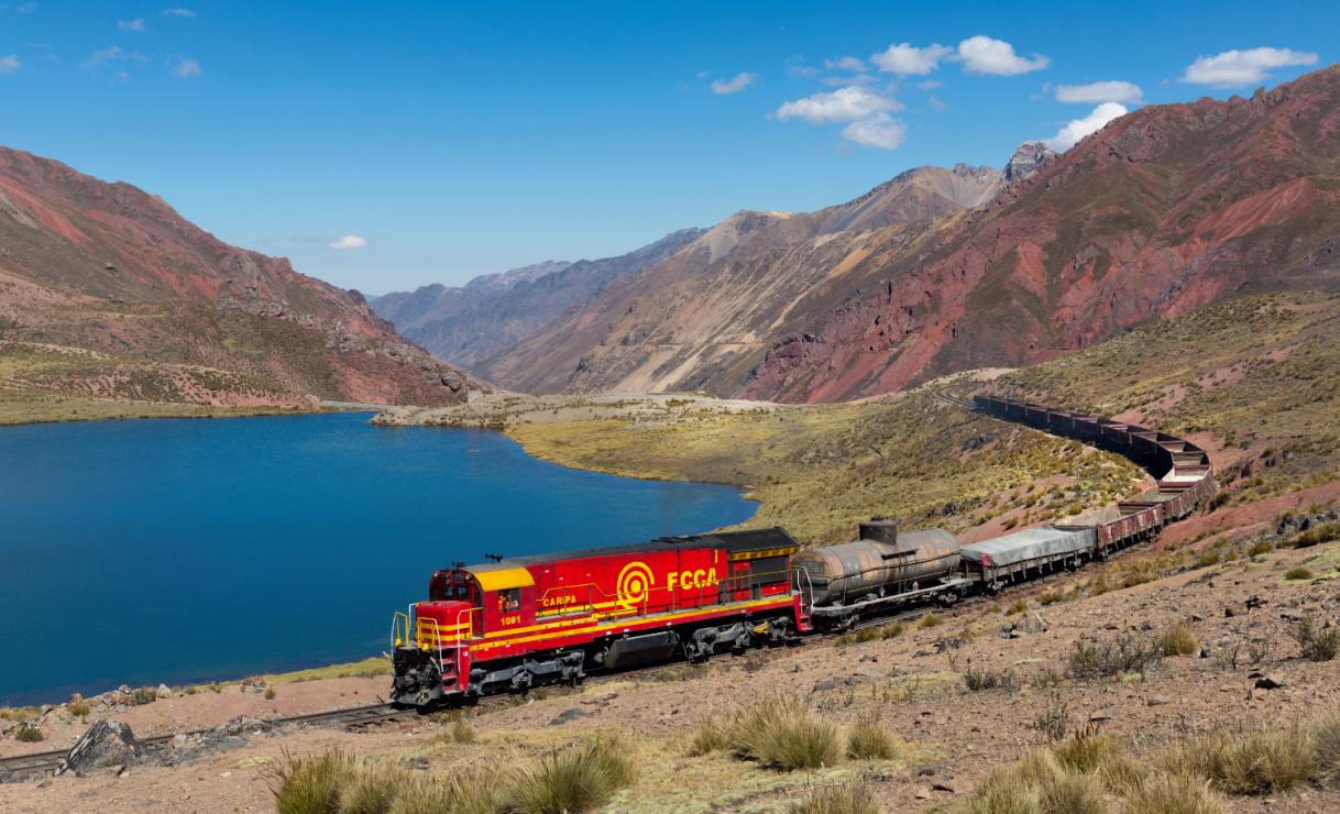 Kolej Transandyjska - Zobacz Amerykę Południową z okna pociągu. Ta trasa przez Andy należy do najbardziej spektakularnych na świecie!