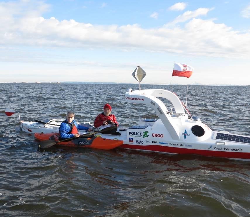 Aleksander Doba znów na wodzie! - Aleksander Doba znów na wodzie. Zmierzy się z Atlantykiem!