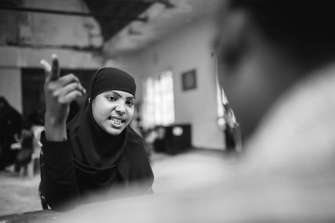 Sajida, lat 18, numer obozowy MRC 8065. - To najbardziej prześladowana mniejszość etniczna.  Zobacz Rohingjów na zdjęciach fotografa National Geographic