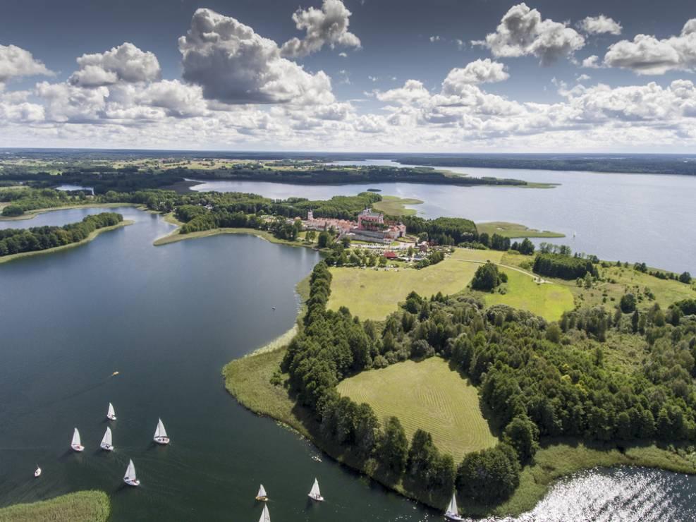 6. Jezioro Wigry - 10 najpiękniejszych jezior w Polsce