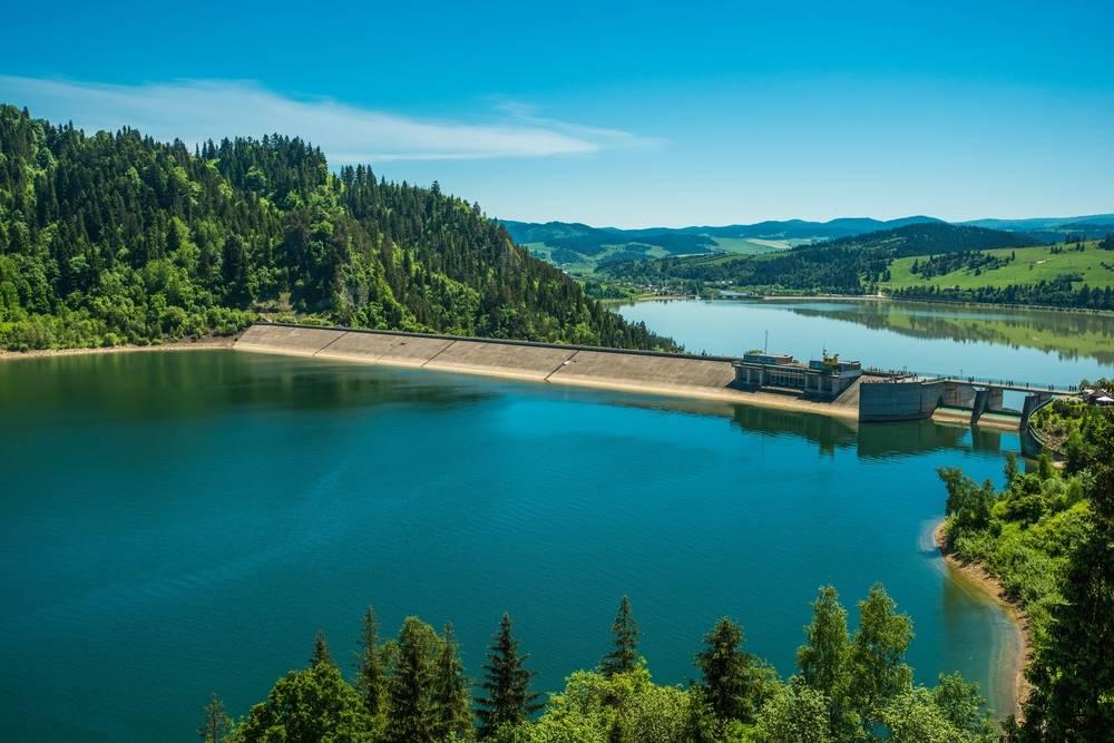 10. Jezioro Czorsztyńskie - 10 najpiękniejszych jezior w Polsce