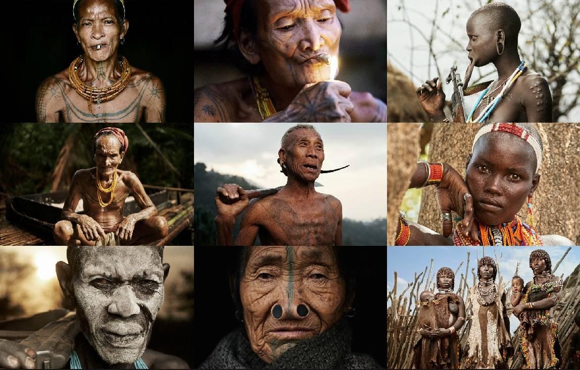 Plemiona - Twarzą w twarze. Zobacz poruszające zdjęcia plemion Afryki i Azji