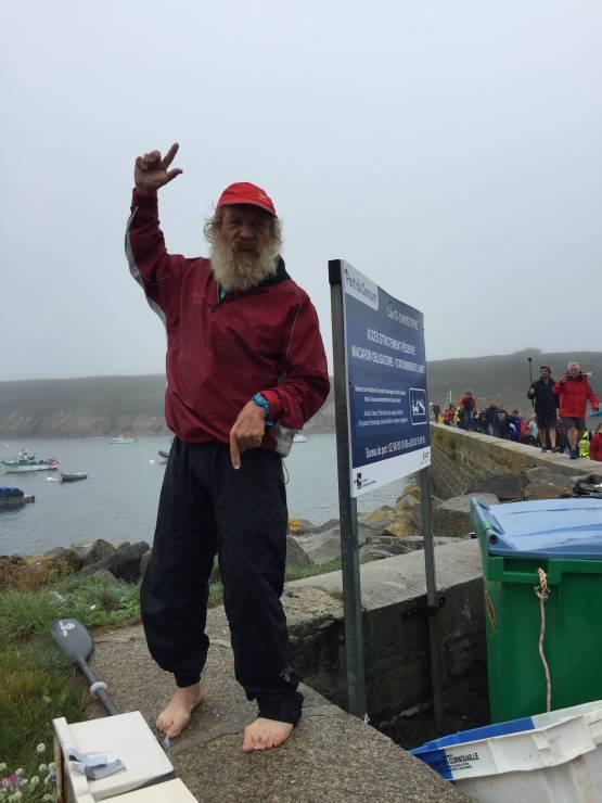 OLO dopłynął - Udało się ! Aleksander Doba dotarł do Europy - po raz 3 przepłynął Atlantyk