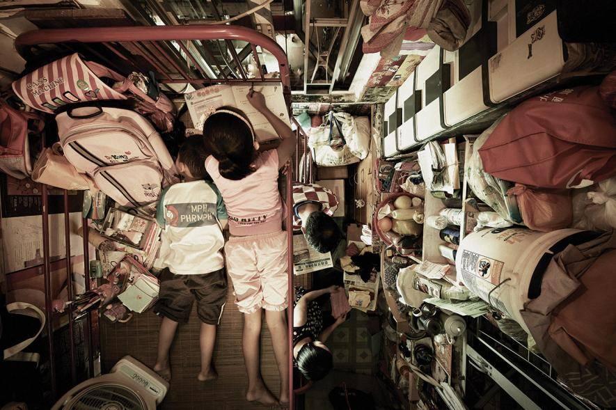 Domy klatki - Czy te domy rozwiążą problemy mieszkaniowe Hongkongu? [GALERIA]