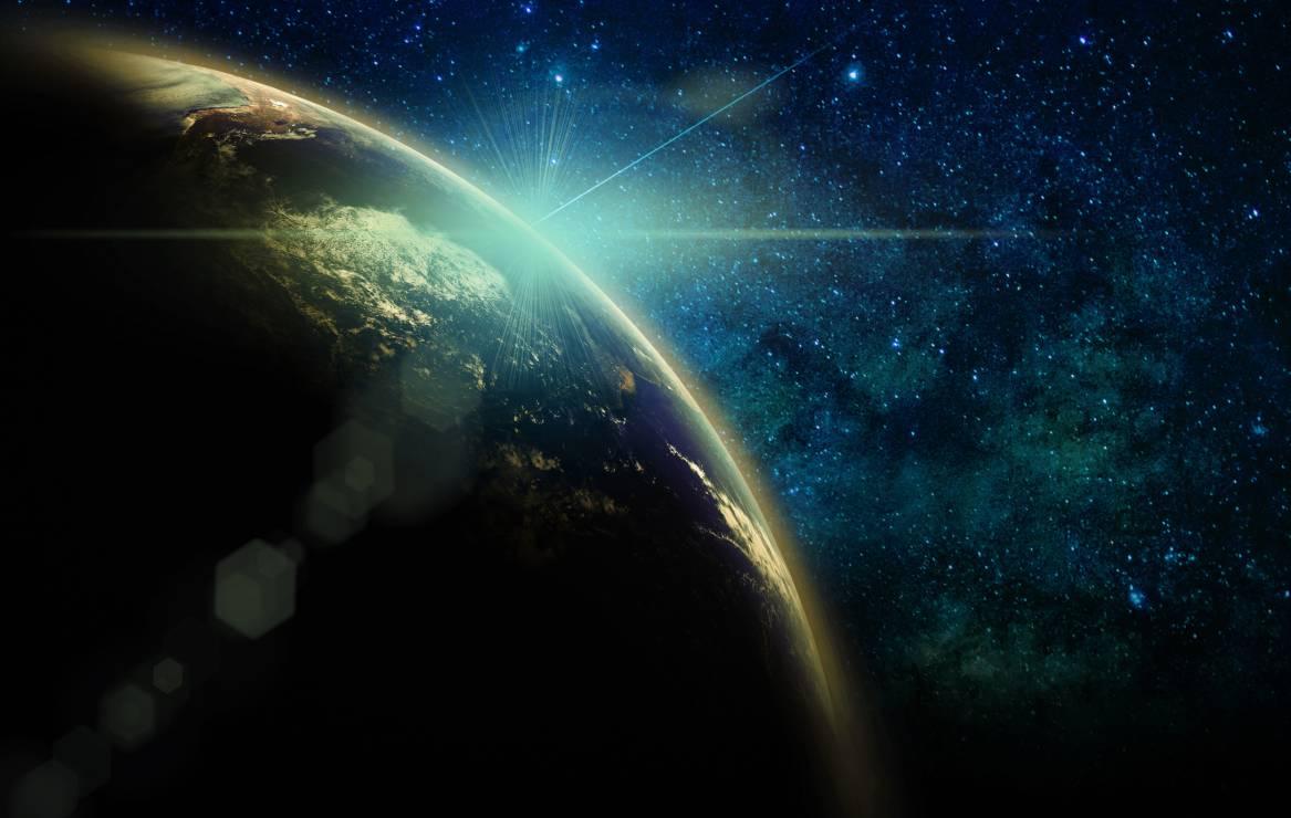 Kosmos - Odebranosygnałradiowy z kosmosu. To już drugi taki impuls