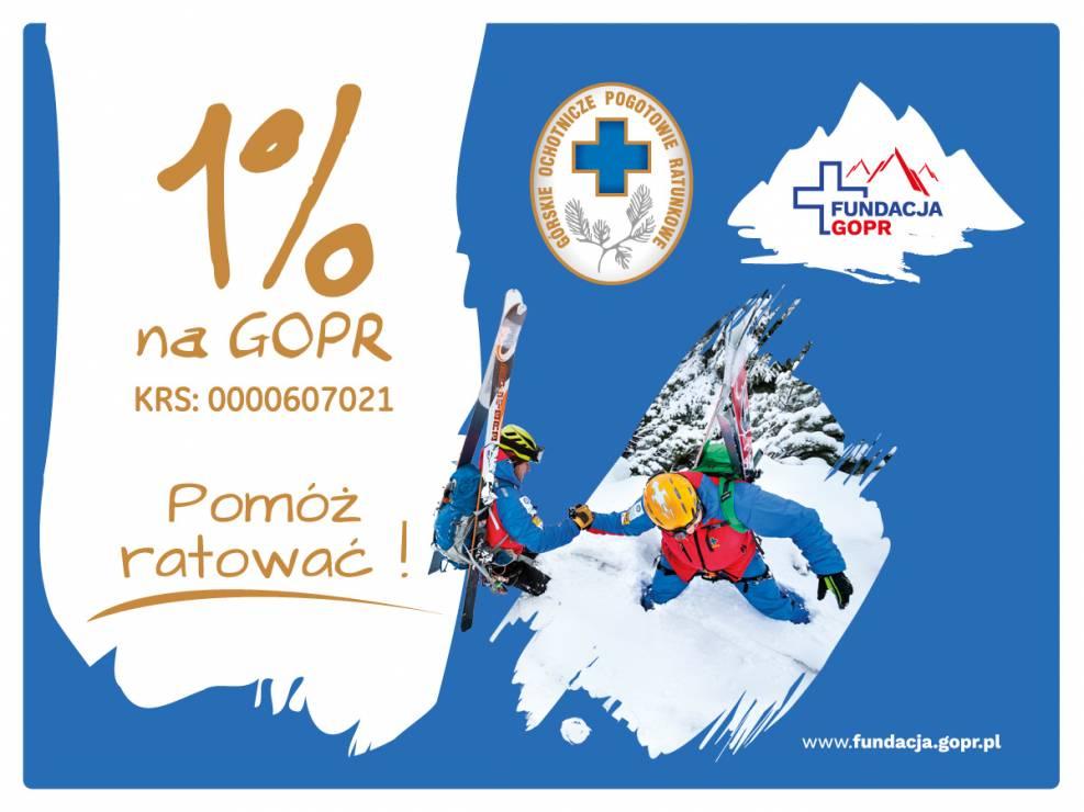 Fundacja GOPR - Fundacja GOPR. Wesprzyj ratowników spod znaku błękitnego krzyża