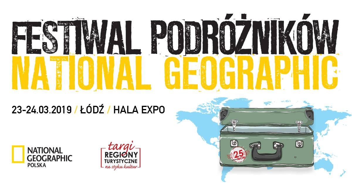 Materiały prasowe - Wielicki, Waligóra, Doba w Łodzi. Rusza Festiwal Podróżników National Geographic!