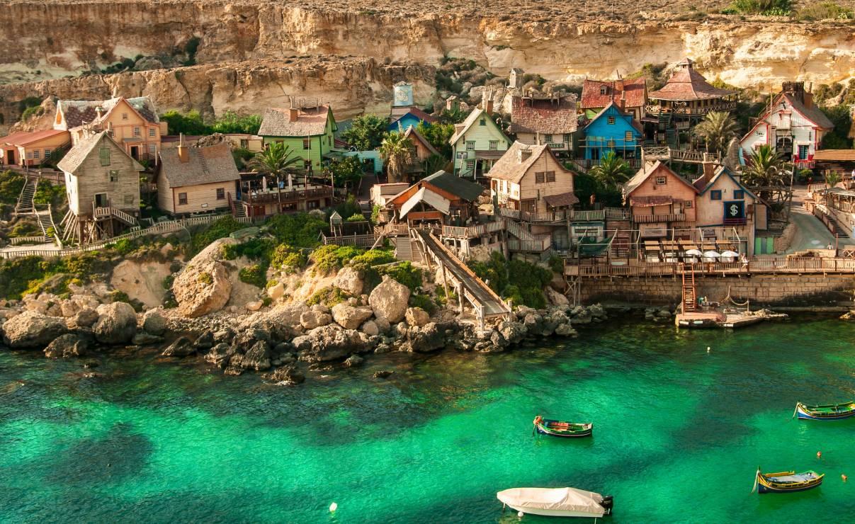 Malta - Najsłynniejsze filmy, które kręcono w Tunezji, Malcie i Tajlandii