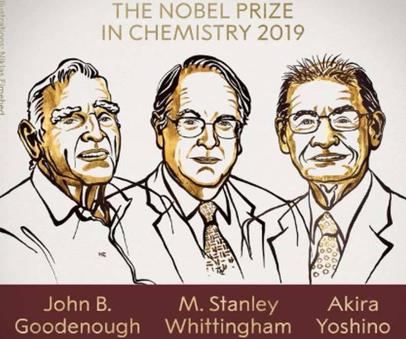 Nobel 2019 z chemii - Nobel 2019 z chemii. Za baterie, które zmieniły nasze życie