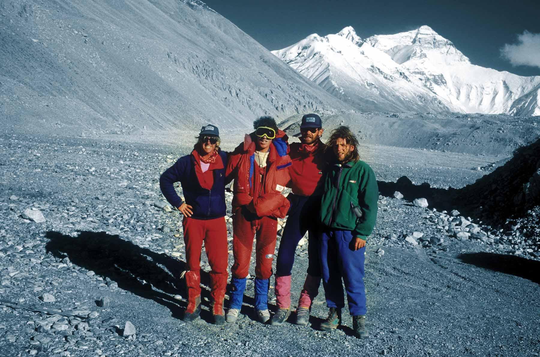 Mount Everest Onnettomuus 1996