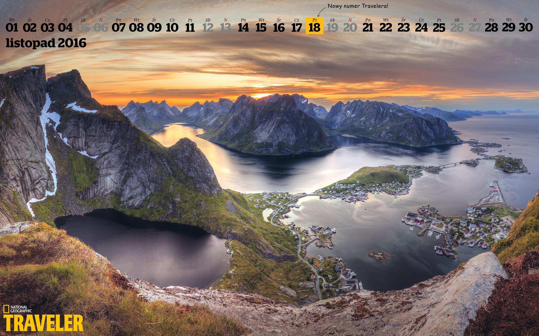Tapeta Na Pulpit Z Kalendarzem National Geographic